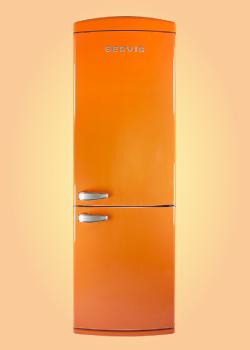 frigider portocaliu