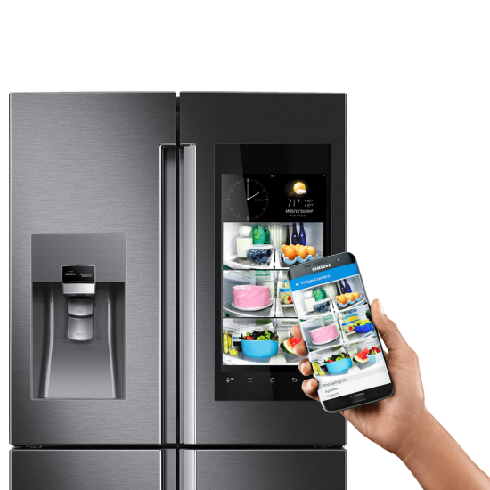 frigider smart samsung